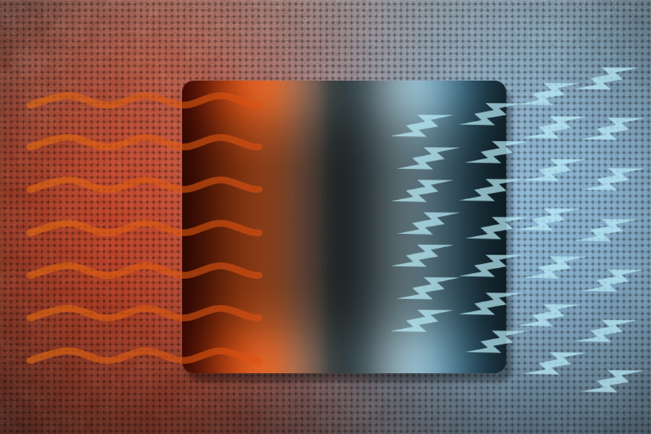 Topological materials efficiently turn heat into electricity